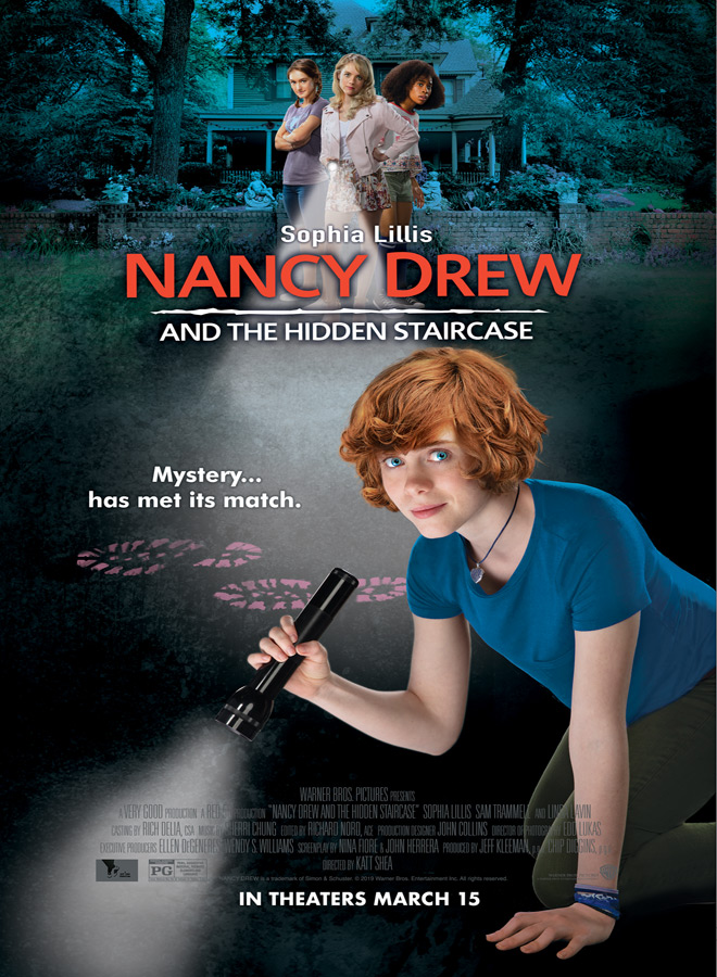 nancy drew movie poster - Nancy Drew and the Hidden Staircase (Movie Review)