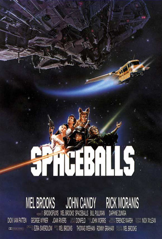spaceballs poster - Interview - Liza Colby of The Liza Colby Sound