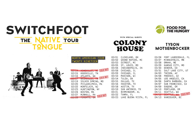 switchfoot tour 2019 - Interview - Jerome Fontamillas of Switchfoot