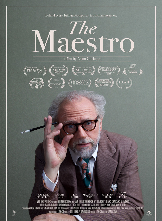 the maestro poster - The Maestro (Movie Review)