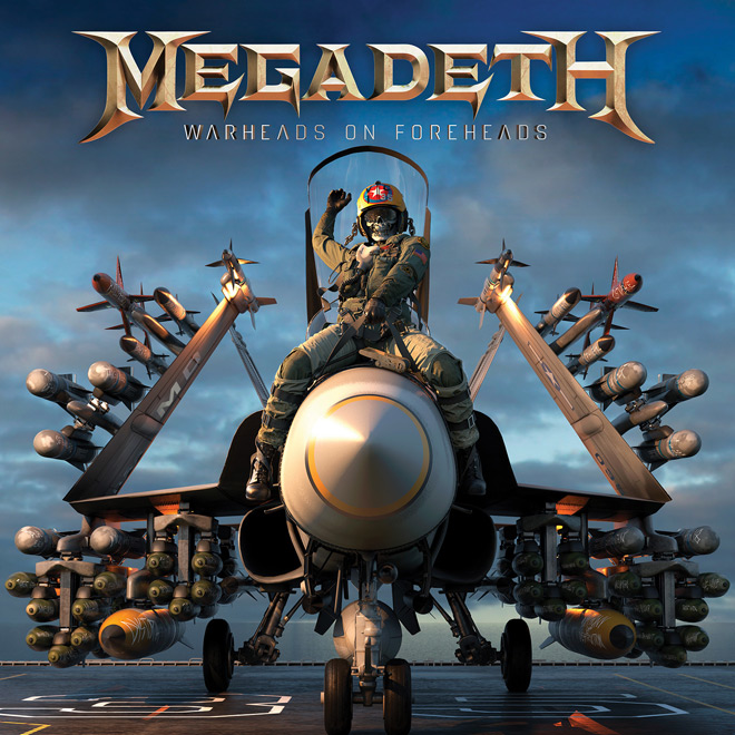 warheads on foreheads artwork - Megadeth - Warheads On Foreheads (Album Review)