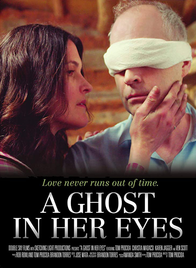 a ghost poster - A Ghost in Her Eyes (Movie Review)