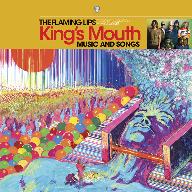 flaming lips album - The Flaming Lips - King's Mouth: Music And Songs (Album Review)