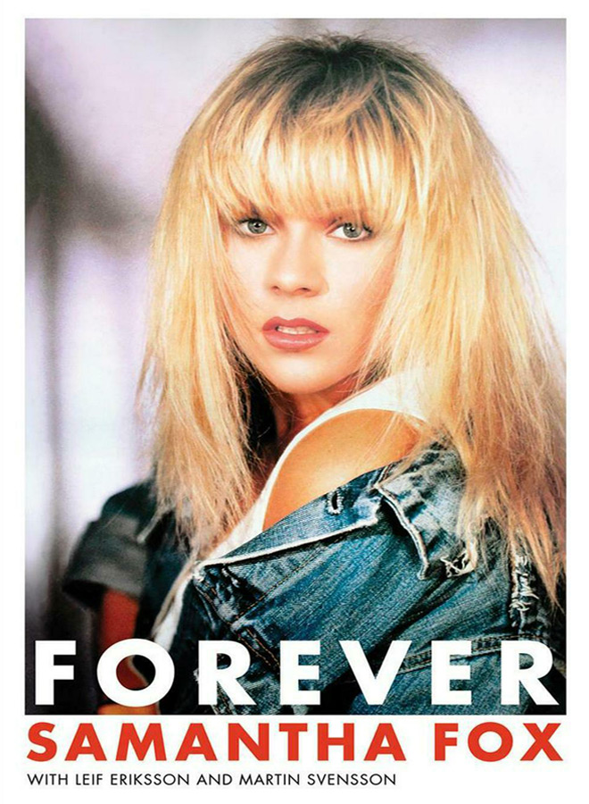 forever samantha book - Interview - Samantha Fox