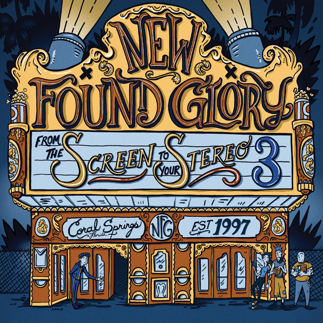 nfg 2019 ep - New Found Glory - From the Screen to Your Stereo 3 (EP Review)