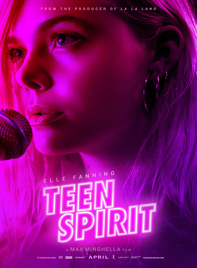 teen spirit poster - Teen Spirit (Movie Review)