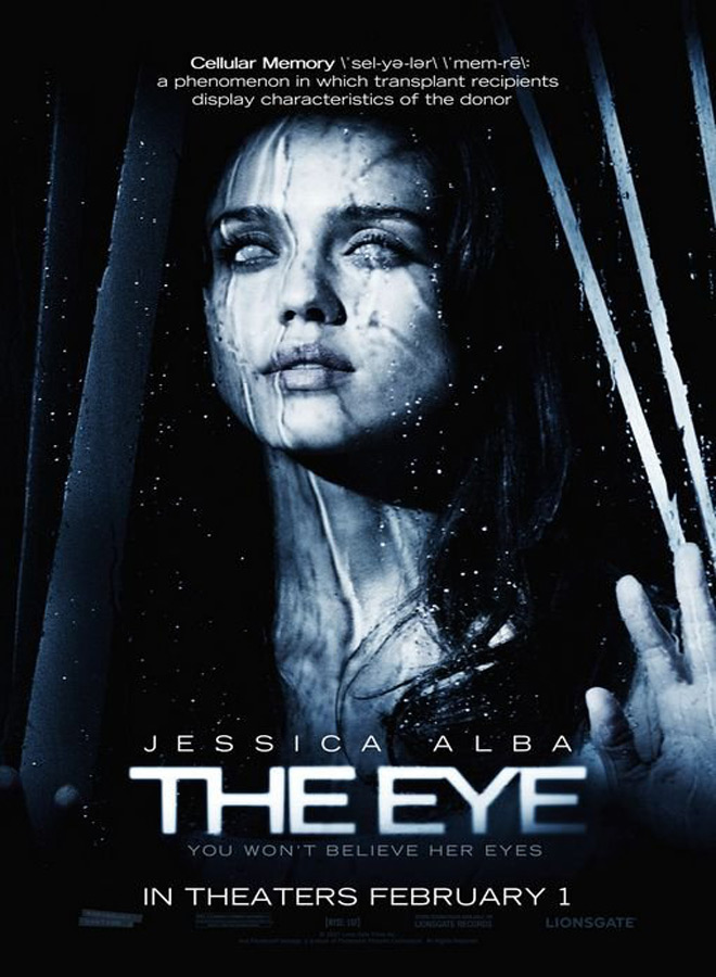 the eye 2008 poster - The Anatomy of a Remake: The Eye