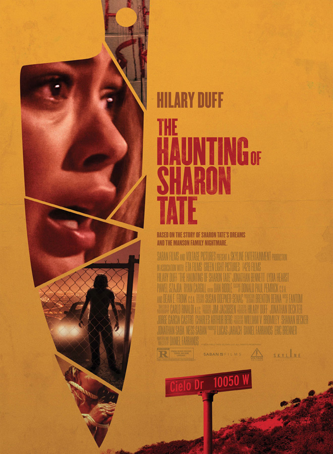 the haunting of sharon poster - The Haunting of Sharon Tate (Movie Review)