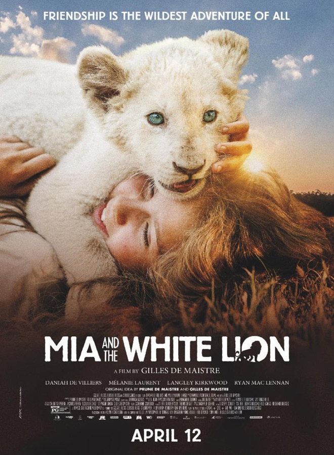 white lion poster - Mia and the White Lion (Movie Review)