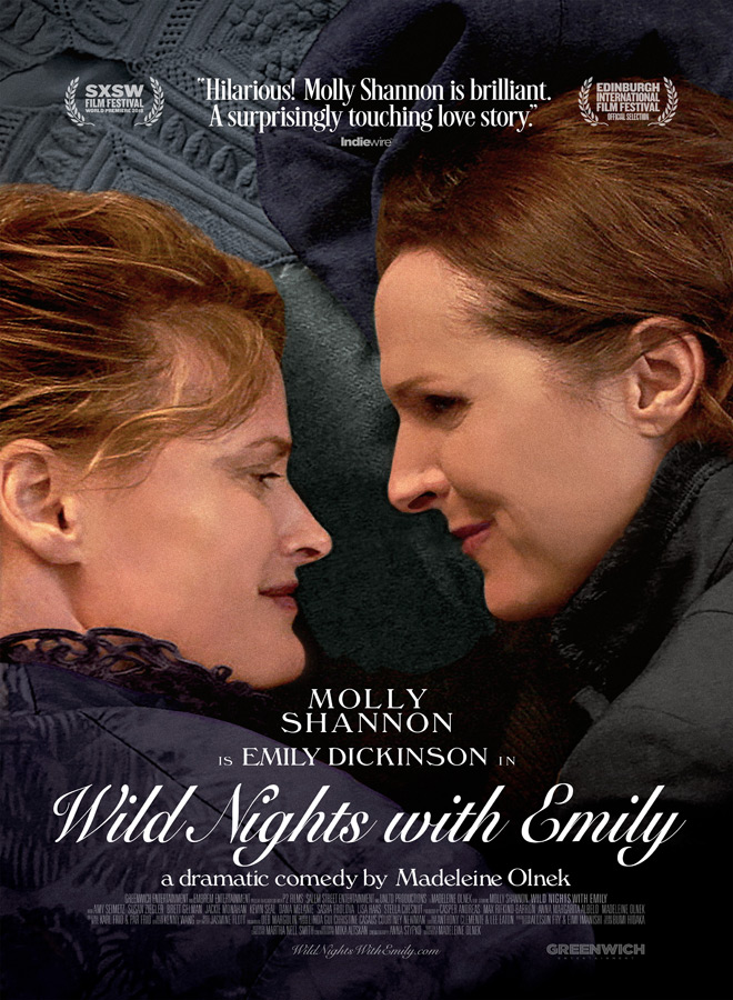 wild nights poster - Wild Nights With Emily (Movie Review)
