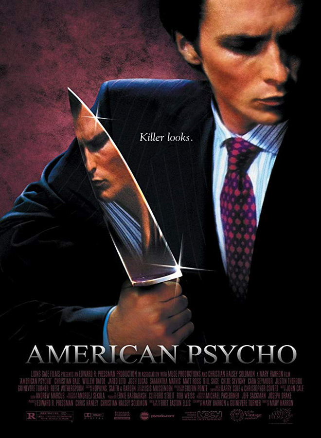 american psycho - Favorite Horror Movies Revealed: Ash Costello of New Years Day