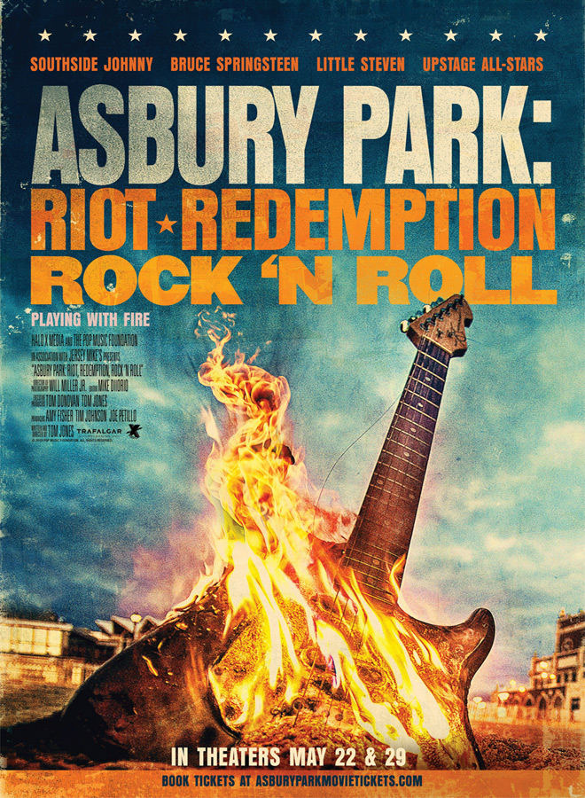 asbury park poster - Asbury Park: Riot, Redemption, Rock 'n Roll (Documentary Review)