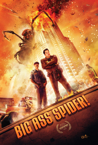 big ass spider poster - Interview - Alexis Kendra