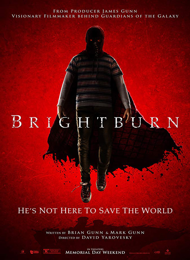 brightburn poster - Cryptic Rock Presents: Top 10 Horror Movies of 2019
