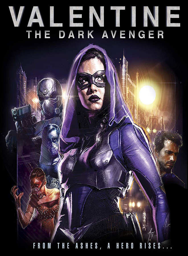 dark avenger poster - Shout! Factory Set To Release Valentine: The Dark Avenger