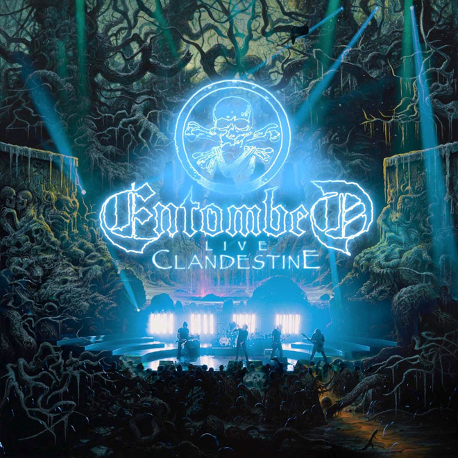 entombed live cover - Entombed - Clandestine Live (Album Review)