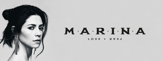 marina slide - Marina - Love + Fear (Album Review)