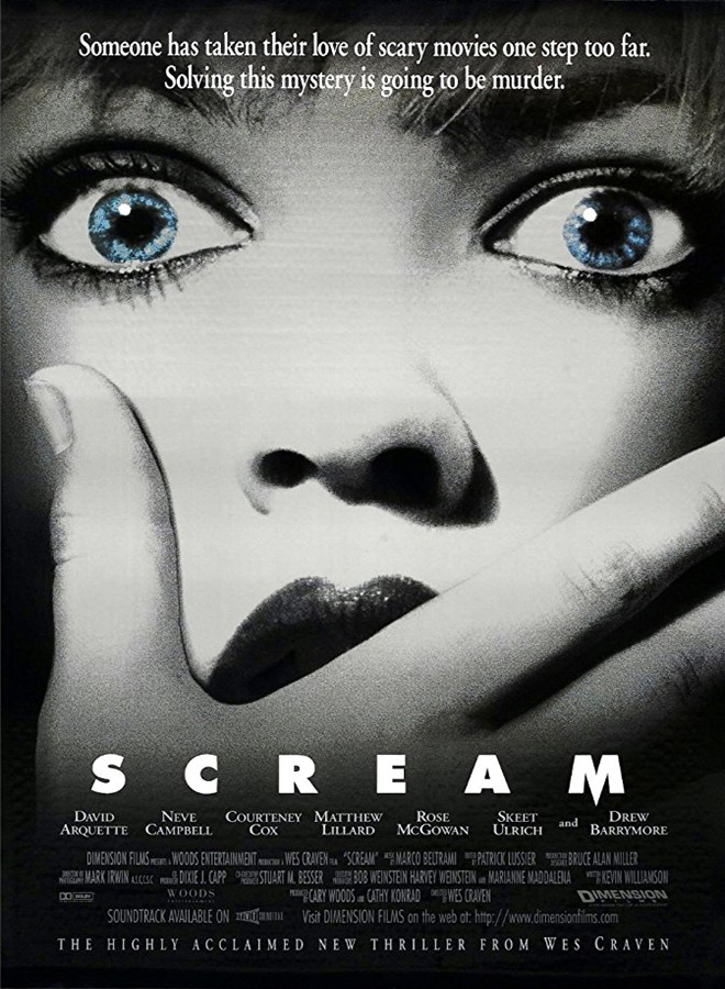 scream poster - Favorite Horror Movies Revealed: Ash Costello of New Years Day