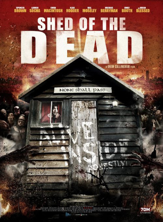 shed of the dead poster - Shed of the Dead (Movie Review)