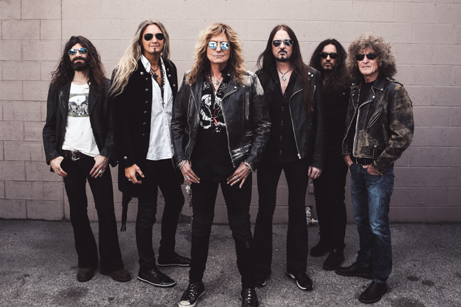 whitesnake flesh promo 2 - Whitesnake - Flesh & Blood (Album Review)
