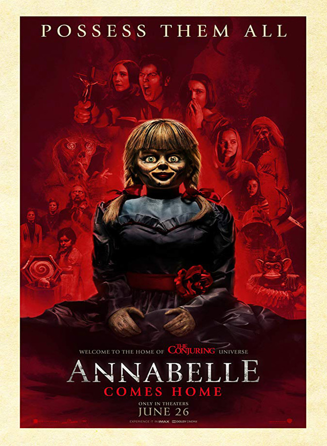 annabelle poster - Annabelle Comes Home (Movie Review)