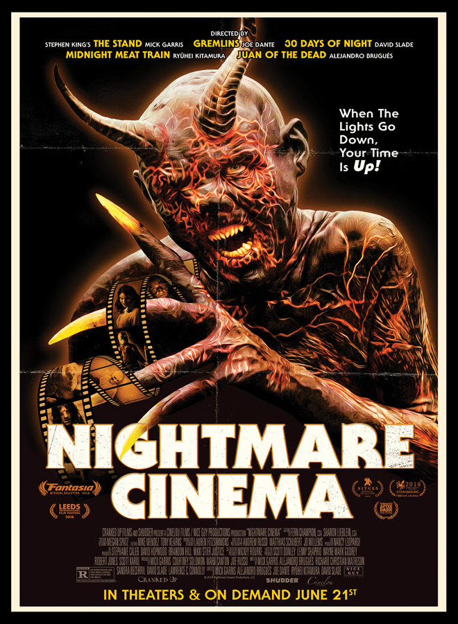 nightmare cinema poster - Nightmare Cinema (Movie Review)