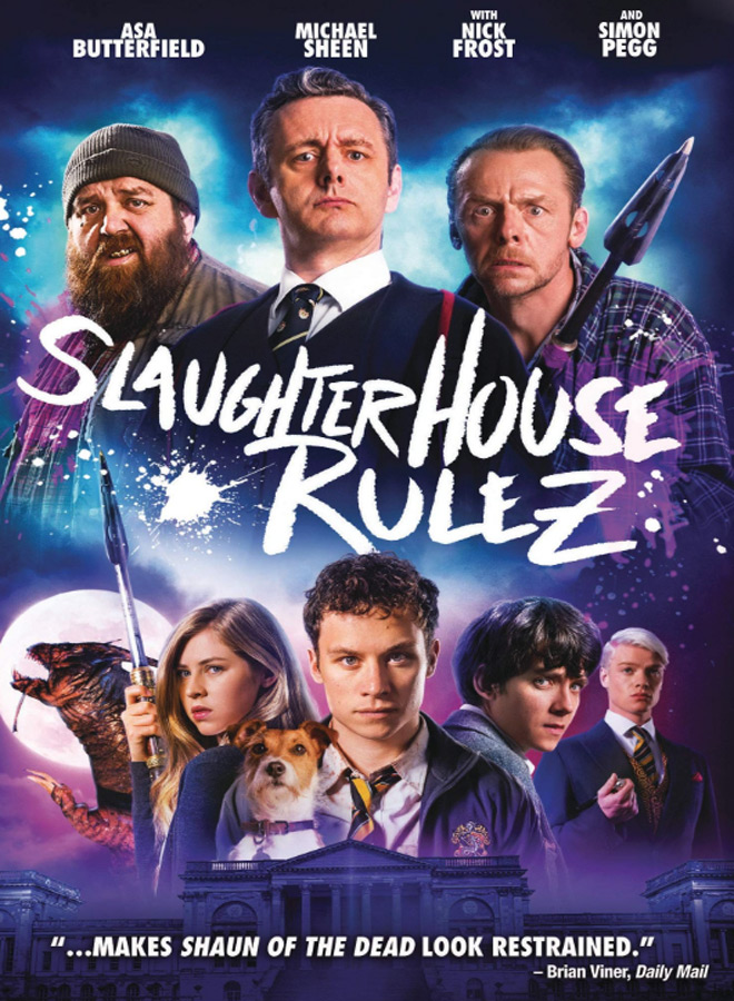 slaughterhouse poster - Slaughterhouse Rulez (Movie Review)