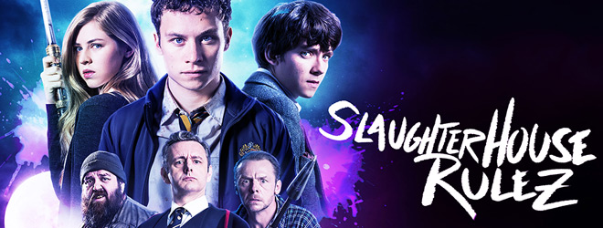 slaughterhouse slide - Slaughterhouse Rulez (Movie Review)