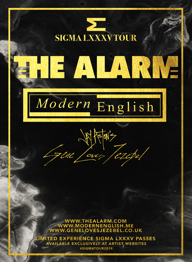 the alarm tour poster - Interview - Mike Peters of The Alarm