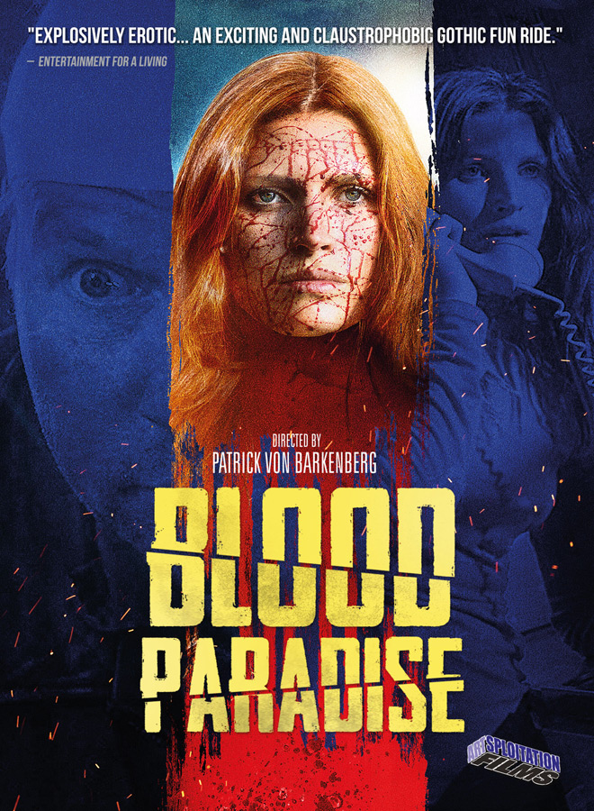 blood paradise poster - Interview - Andréa Winter