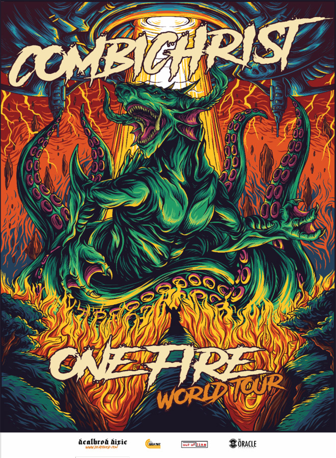 combichrist tour poster - Interview - Andy LaPlegua of Combichrist