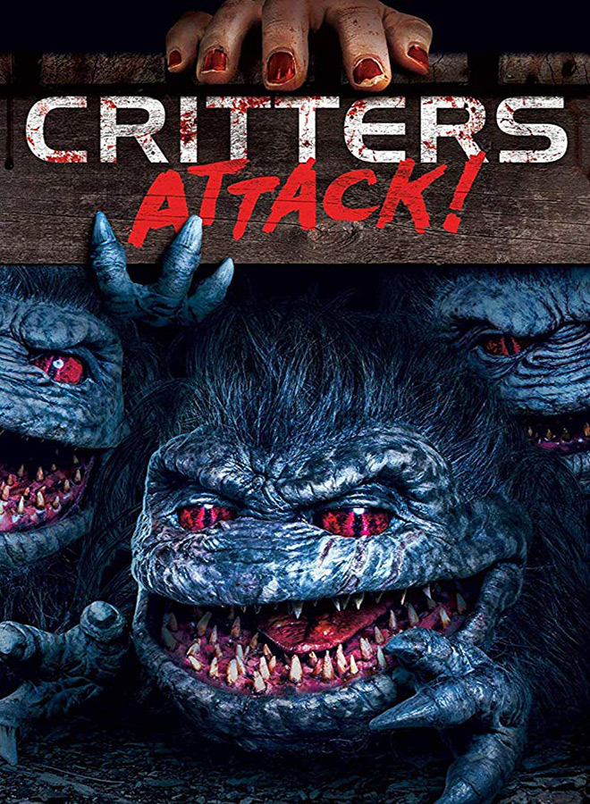 critters attack poster - Critters Attack! (Movie Review)