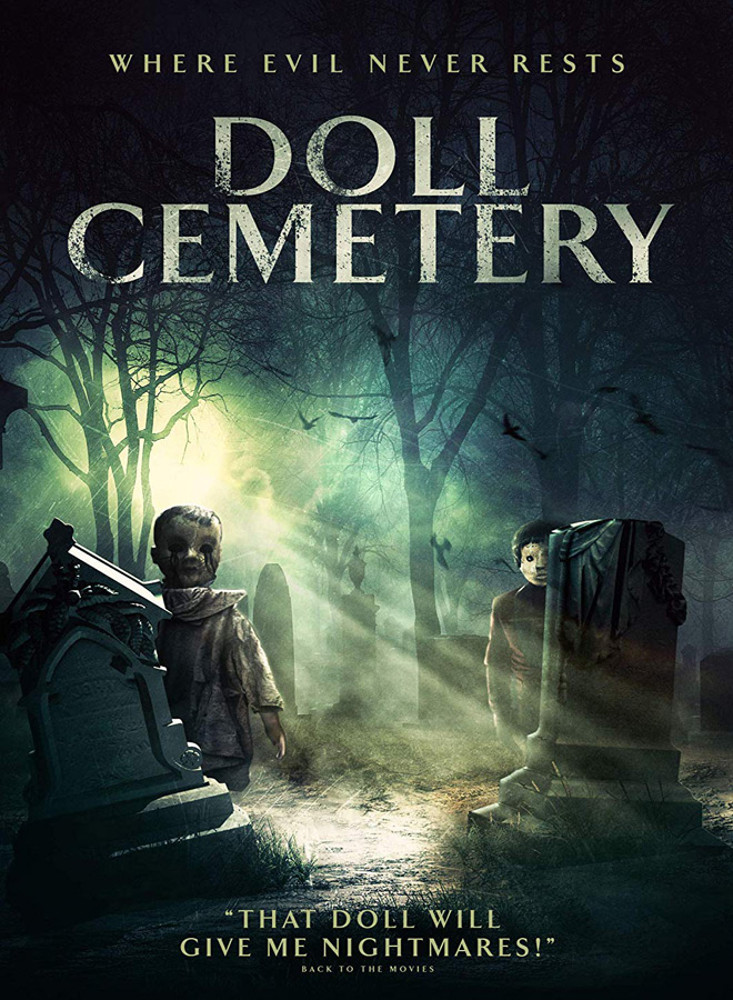 doll cemetery poster - Doll Cemetery (Movie Review)