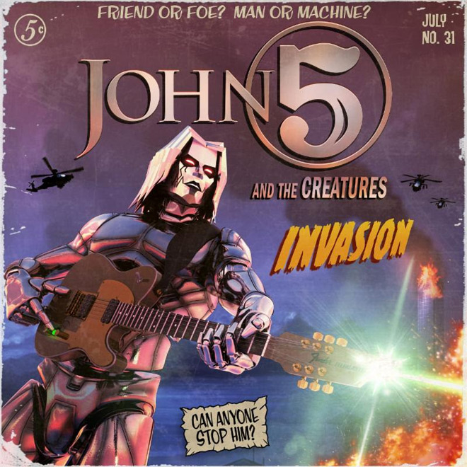invasion - John 5 and The Creatures - Invasion (Album Review)