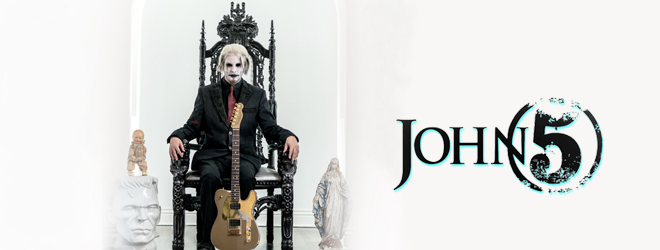 john 5 slide - Interview - John 5 Talks Invasion, Rob Zombie, + More