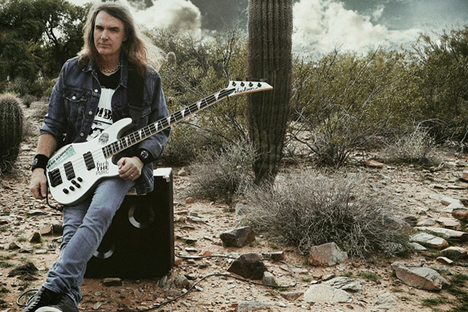 sleeping giants promo - David Ellefson - Sleeping Giants (Album Review)