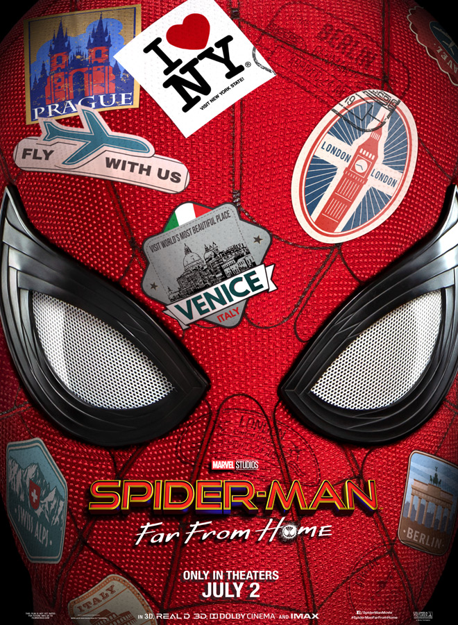 spider man poster - Spider-Man: Far From Home (Movie Review)
