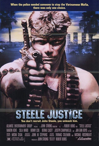 steele justice poster - Interview - Martin Kove