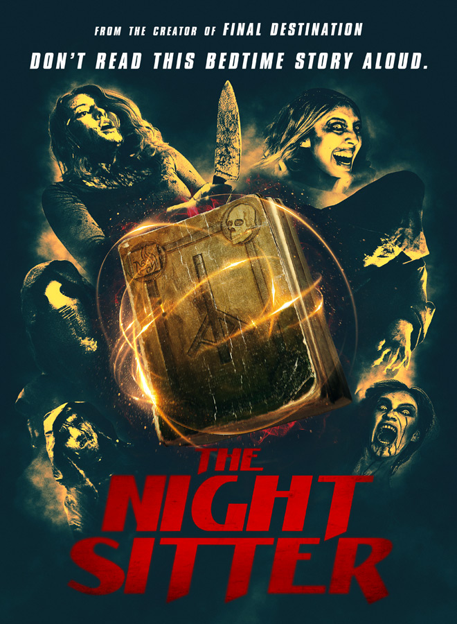 the night sitter poster - The Night Sitter (Movie Review)