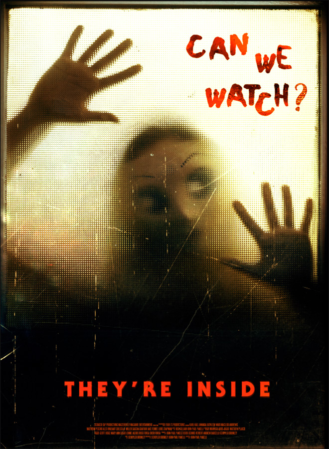 theyre inside poster - They're Inside (Movie Review)