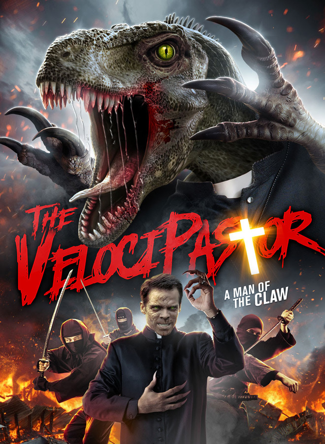 velicopastor poster - The VelociPastor (Movie Review)