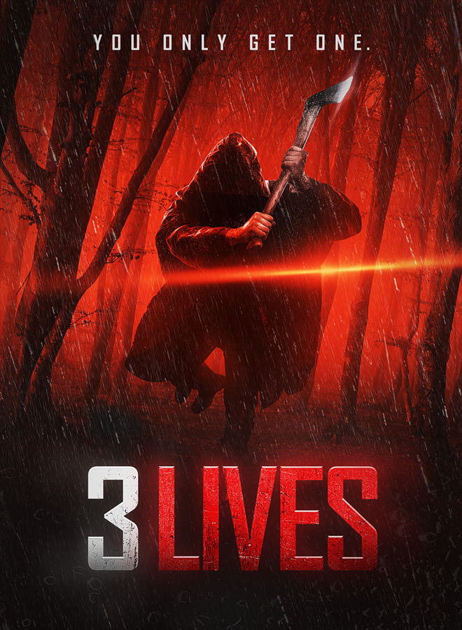 3 lives poster - 3 Lives (Movie Review)