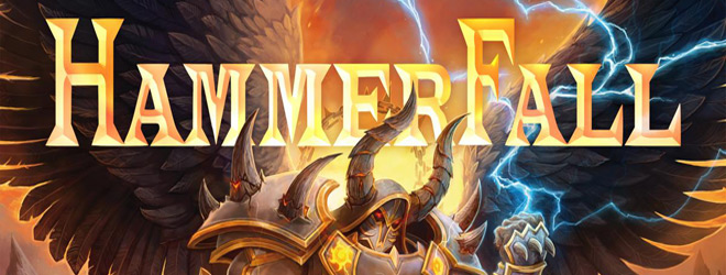 Hammerfall slide - HammerFall - Dominion (Album Review)