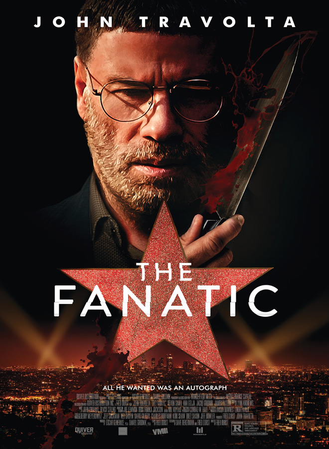 fanatic poster - The Fanatic (Movie Review)