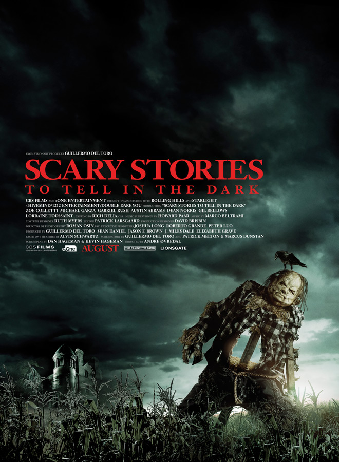 scary stories poster - Scary Stories to Tell in the Dark (Movie Review)