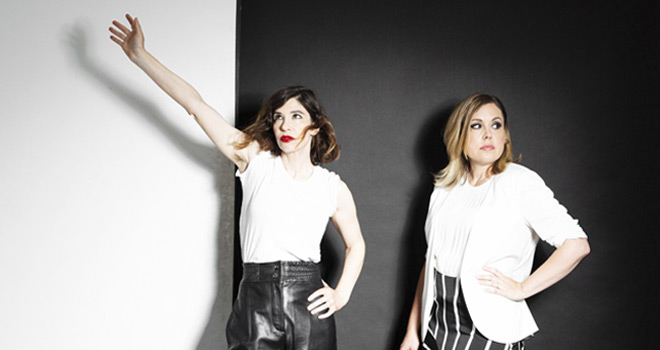 sleater promo - Sleater-Kinney - The Center Won't Hold (Album Review)