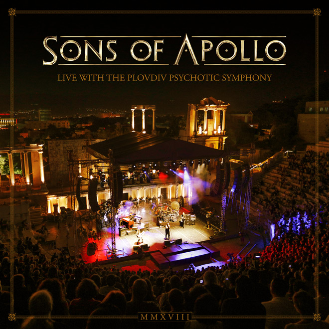 sons of apollo - Sons of Apollo - Live With The Plovdiv Psychotic Symphony (Live Album Review)