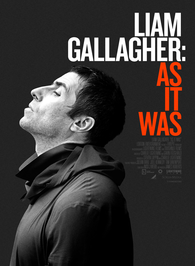 as it was poster - Liam Gallagher: As It Was (Documentary Review)