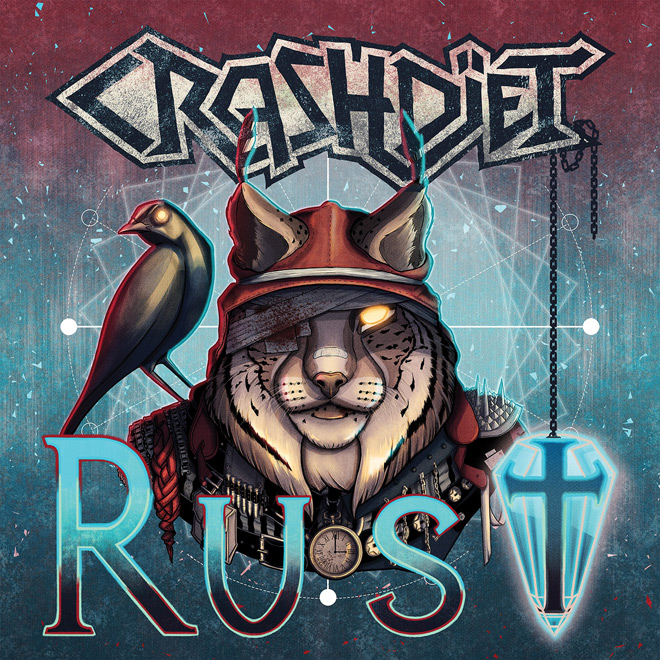 crashdiet - Crashdïet - Rust (Album Review)