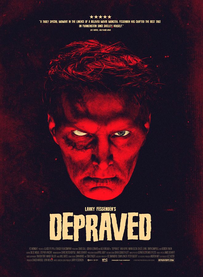 depraved poster - Depraved (Movie Review)